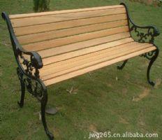 12条木狮子头公园椅休闲椅设计图