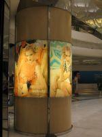 上海大悦城超薄灯箱设计图