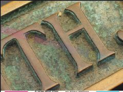 铜板雕刻铸铝工艺设计图