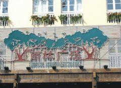 杭州第一世界休博园主题造型设计图