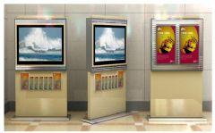 经融机构展示柜设计图