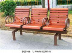 钢木椅子休闲椅设计图