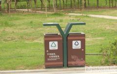 黄冈遗爱湖公园标识系统垃圾桶设计图