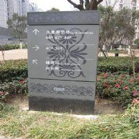 广场标识牌