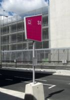 伦敦奥运会导视系统名称警示牌设计图
