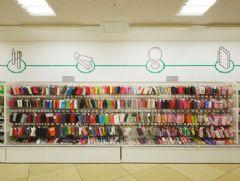 LOFT 购物超市标识展架设计图