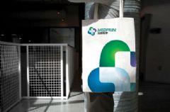 迈普医学品牌户外广告写真设计图