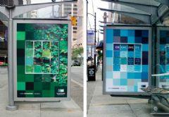 加拿大皇家路大学广告灯箱设计图