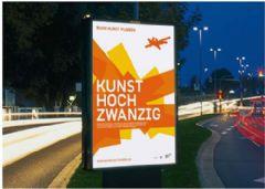 鲁尔艺术博物馆广告灯箱设计图