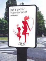 阿提斯动物园广告灯箱设计图