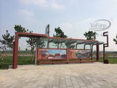 山东东营公交站牌、宣传栏