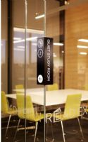 Hume Global学习中心及图书馆识别系统吸塑字设计图
