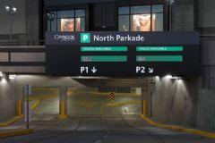 Chinook购物中心导视系统设计交通指示设计图