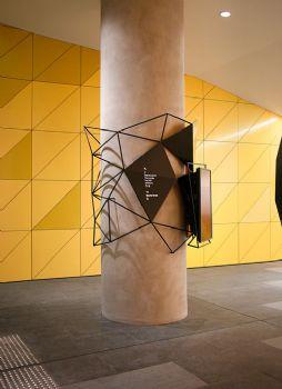 澳洲国民银行总部指示标牌系统设计
