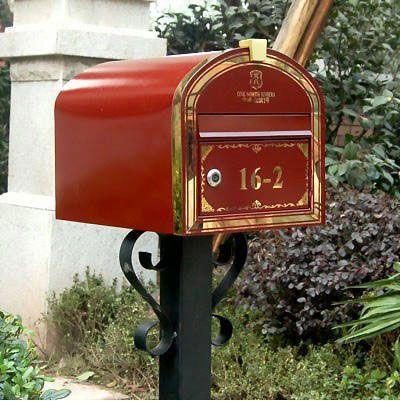 信报箱案例3信报箱设计图