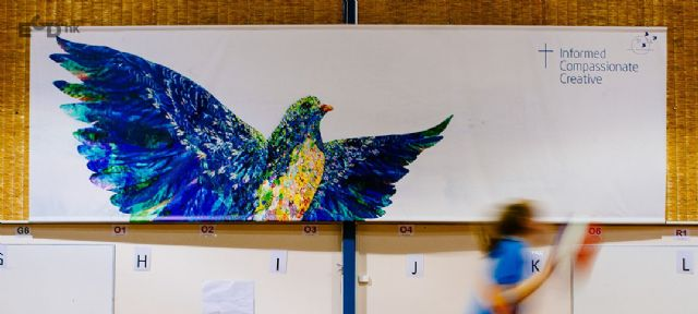 墨尔本女子学院导视系统欣赏喷绘设计图