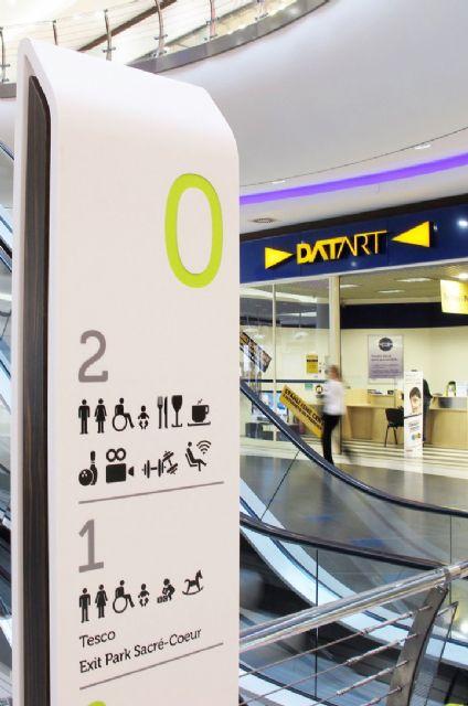 国外购物中心导视设计