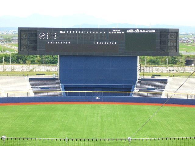 日本某体育馆导向系统设计欣赏滚动灯箱设计图