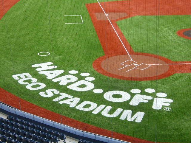 日本某体育馆导向系统设计欣赏草地牌设计图