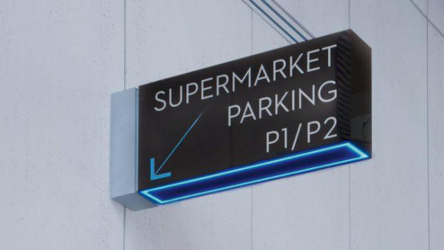 Nova Karolina购物中心导向标识系统设计科室牌设计图