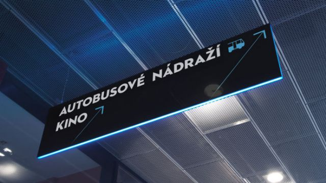 Nova Karolina购物中心导向标识系统设计吊挂指示设计图