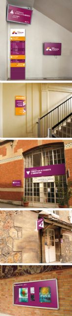 法国Arts et Métiers学校标识导向设计