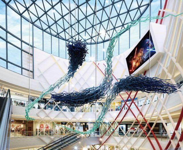 王府井美陈概念设计商场陈列设计图