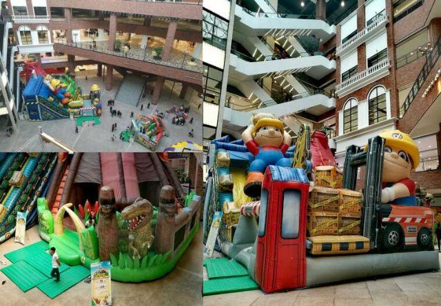 儿童游乐场美陈欣赏商场陈列设计图