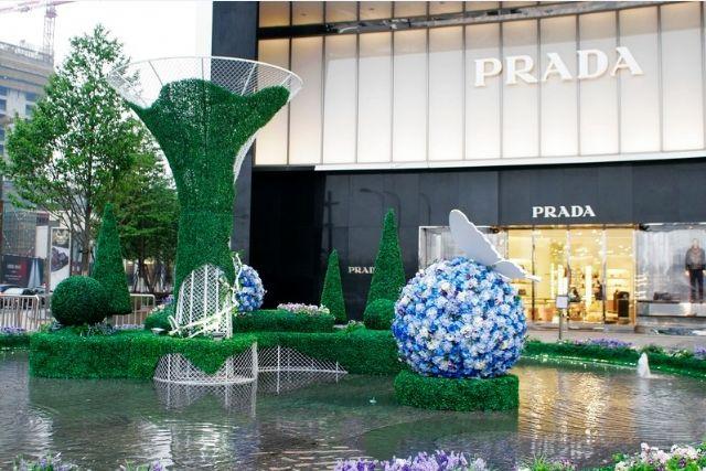 新加坡购物中心广场美陈设计广场陈列设计图