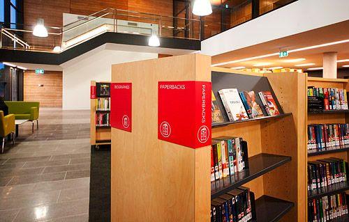 图书馆标识导向设计其它设计图