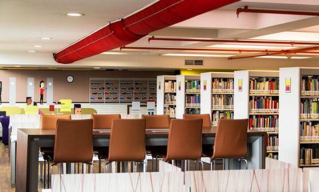 国外图书馆标识导向设计案例其它设计图