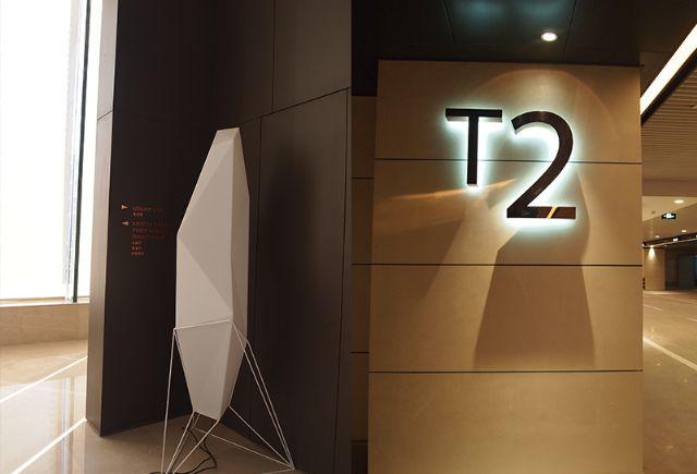 深圳湾1号标识导视系统欣赏楼层指示设计图
