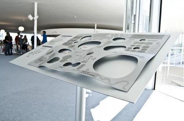 瑞士联邦理工学院导视系统楼层指示设计图