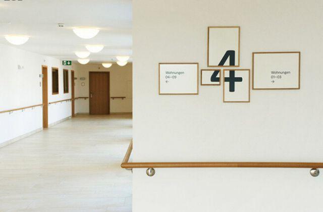 退休基金环境导视系统设计楼层指示设计图