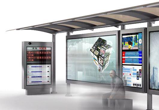 宣传栏,公交站宣传栏灯箱宣传栏设计图