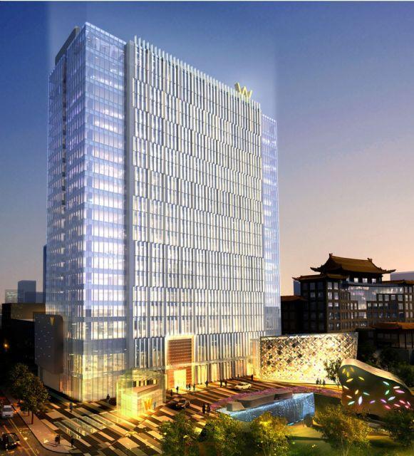 北京W酒店