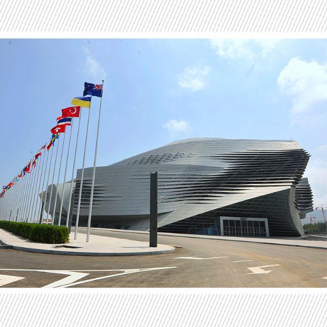 夏季达沃斯场馆(大连国际会议中心)标识导视