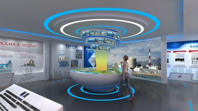 新材料企业展示柜设计图