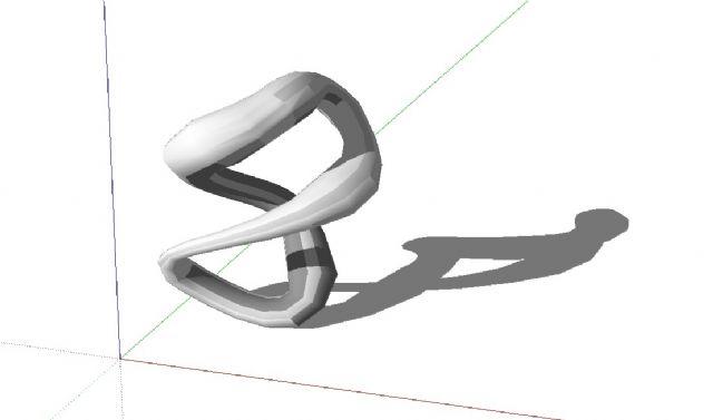 户外广场艺术雕塑SU模型创意雕塑设计图