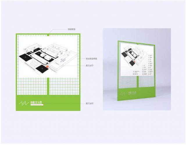 创业产业园标识设计户外指示牌设计图