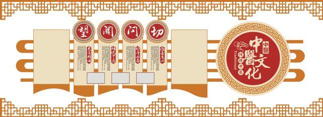 医院文化墙与导视设计平面图设计图