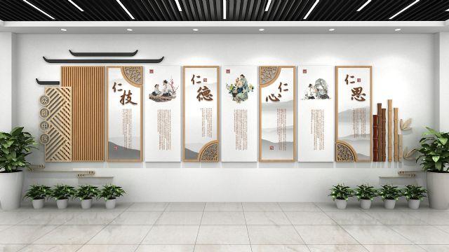 医院文化墙与导视设计