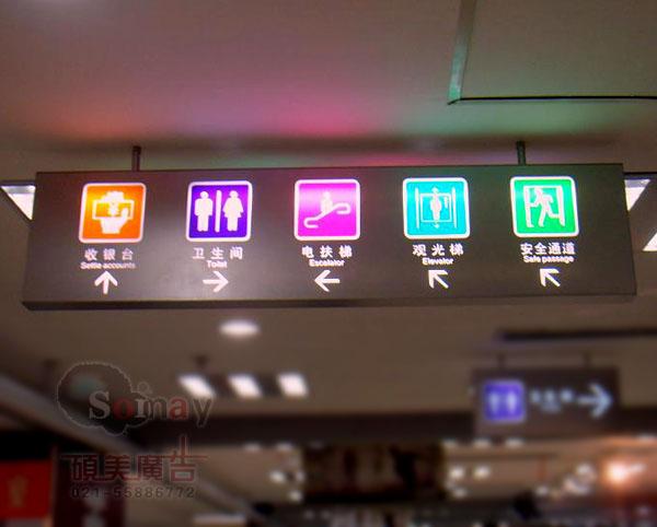 如何做商场标识导向系统?图片