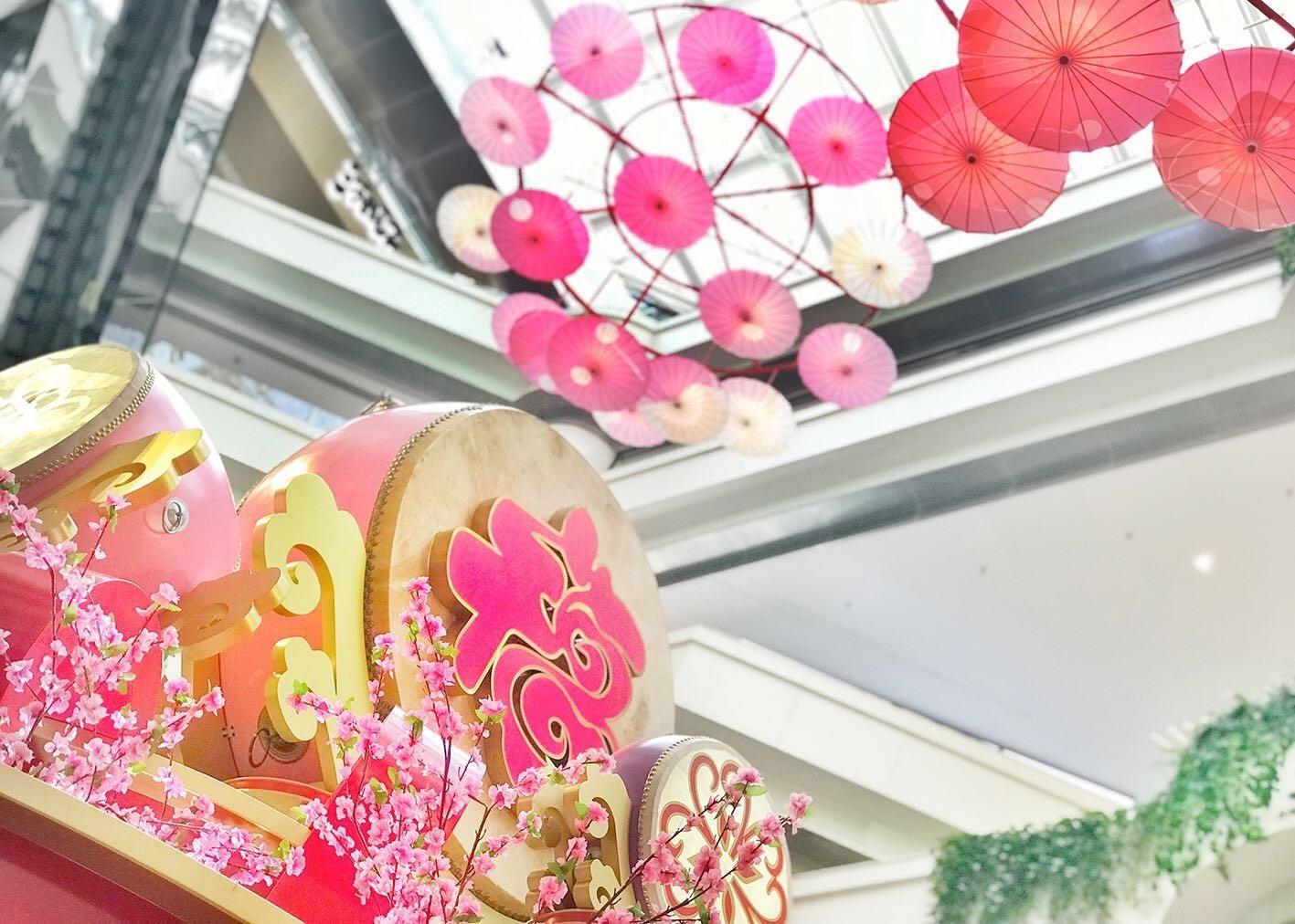 春节期间广州各大购物中心的美陈集锦
