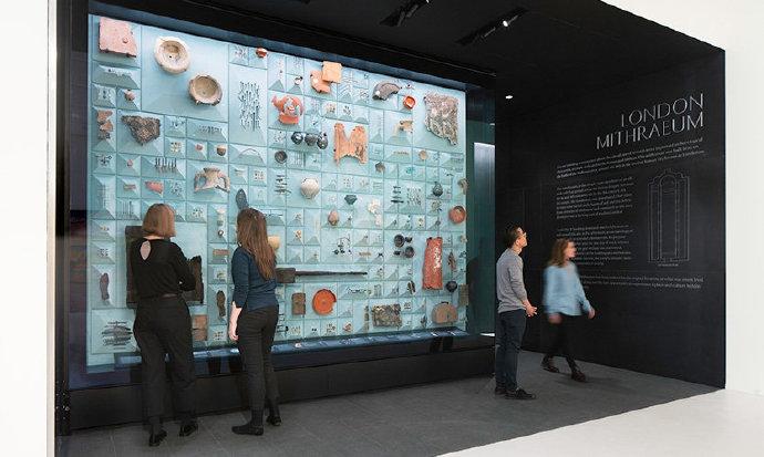 英国伦敦彭博空间Mithraeum展览
