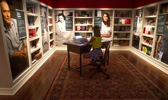 美国密西西比艺术+娱乐体验博物馆体验图形