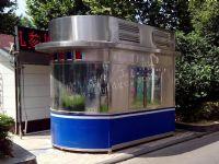 青浦制作钢结构保安岗亭哪个公司好 选欣点岗亭厂家价格